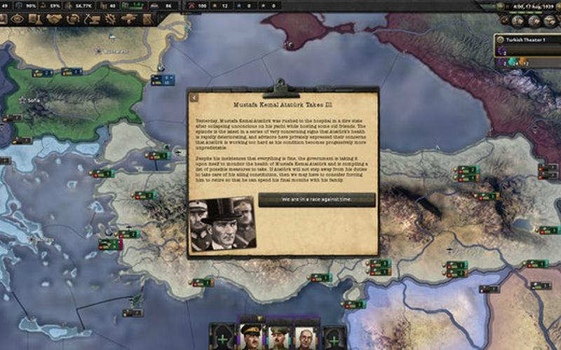 Hearts of Iron IV: Battle for the Bosporus EUROPE