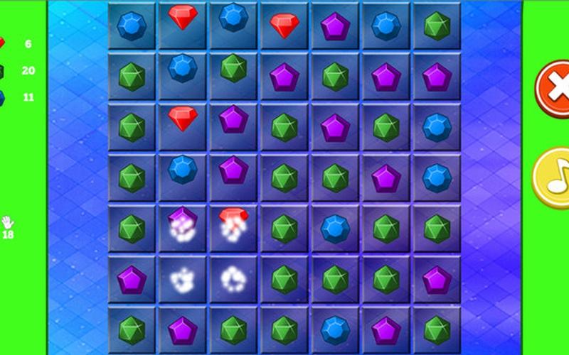 Jewel Puzzle Click