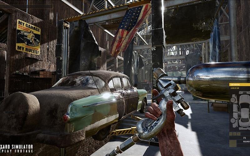 Junkyard Simulator On Steam Pc Game Hrk Game