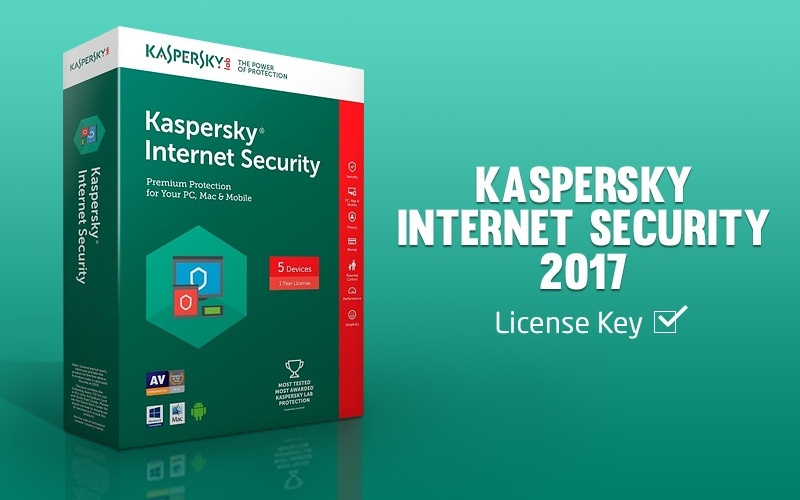 Kaspersky internet security 2017 license update key file till