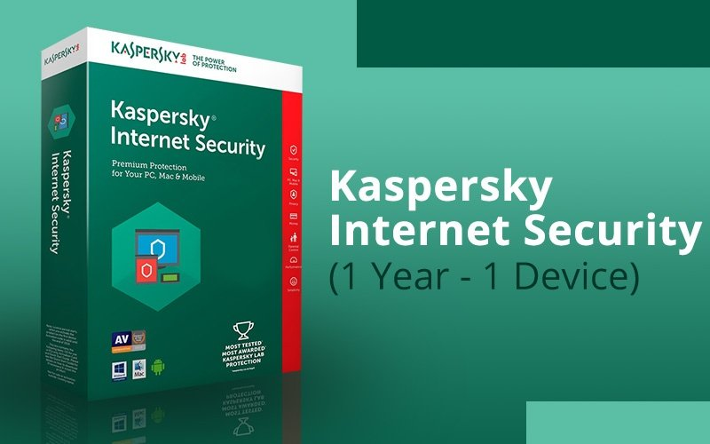 KASPERSKY INTERNET SECURITY (1 YEAR / 1 DEVICE)