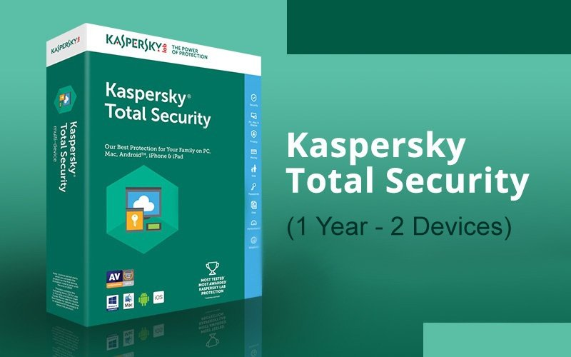 KASPERSKY TOTAL SECURITY (1 YEAR / 2 DEVICES)