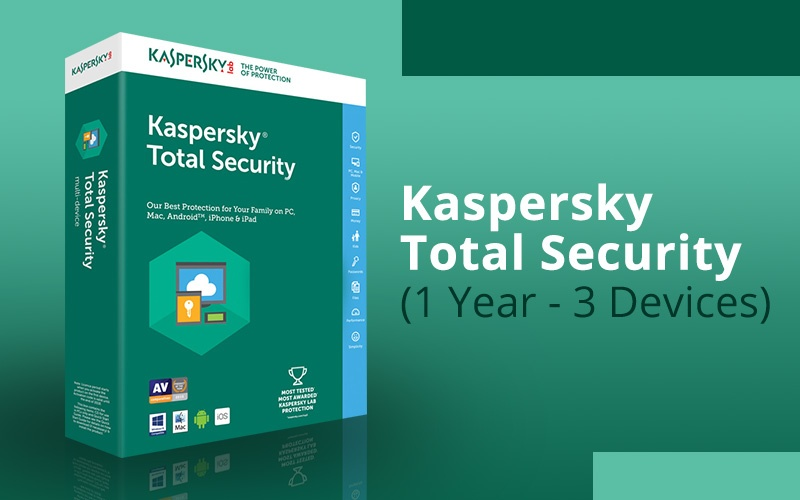 KASPERSKY TOTAL SECURITY (1 YEAR / 3 DEVICES)