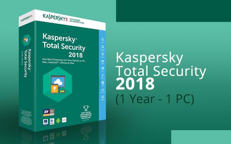 kaspersky total security 2018 key 1 year 1 device on. Black Bedroom Furniture Sets. Home Design Ideas