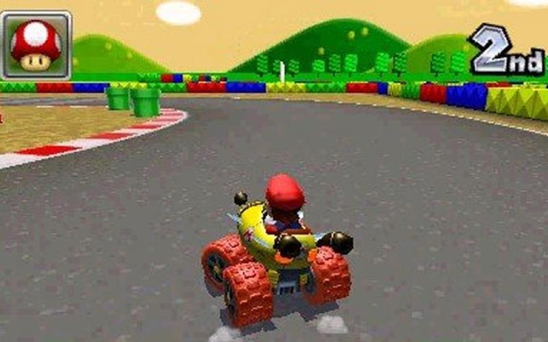 Mario kart 7 nintendo 3ds sur 3ds jeu pc hrk game - Mario kart 7 gratuit ...
