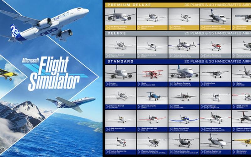 Microsoft Flight Simulator Premium Deluxe - Windows 10