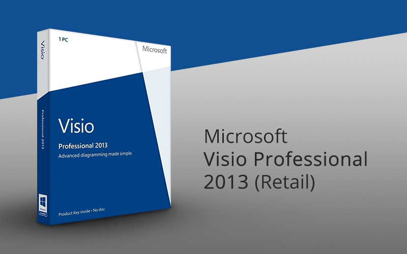 Microsoft Visio Professional 2013 on Software - PC Game | HRK
