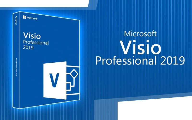 Buy Microsoft Visio Professional 2019 Software Software - Cd Key