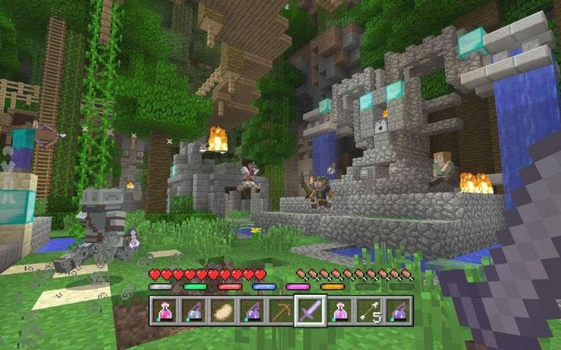 MINECRAFT BATTLE MAP PACK SEASON PASS XBOX ONE Auf Xbox PC - Minecraft zu 2 spielen xbox
