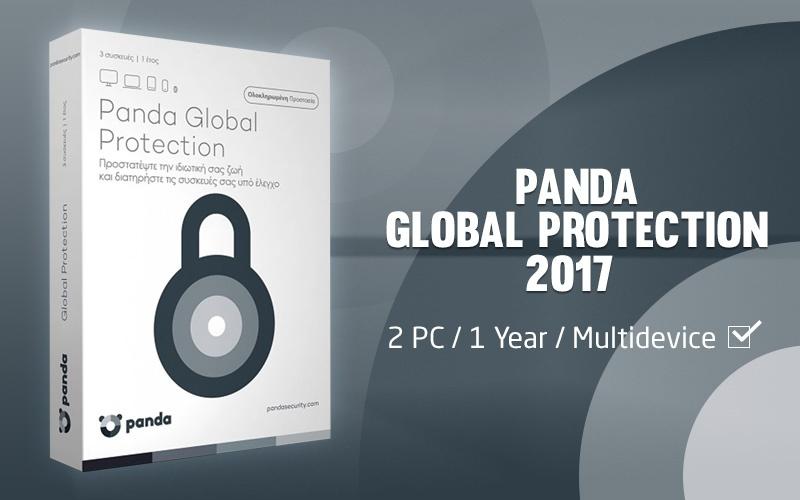 Panda Global Protection 2017 Multidevice 2 PC 1 Year auf