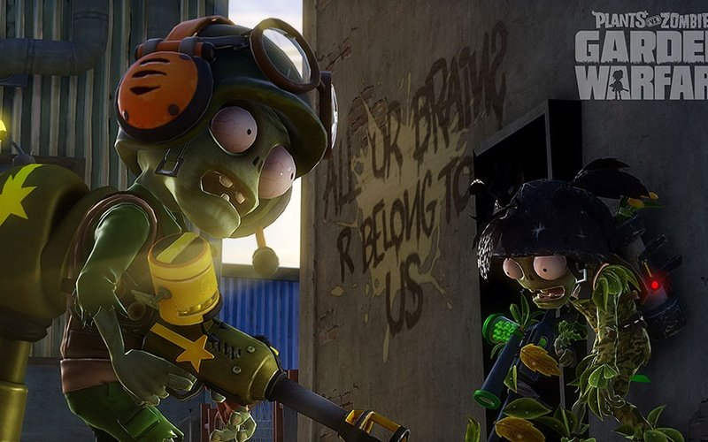 ... Plants Vs Zombies Garden Warfare ...
