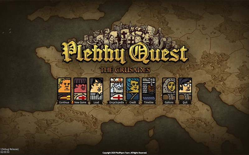 Plebby Quest: The Crusades EUROPE