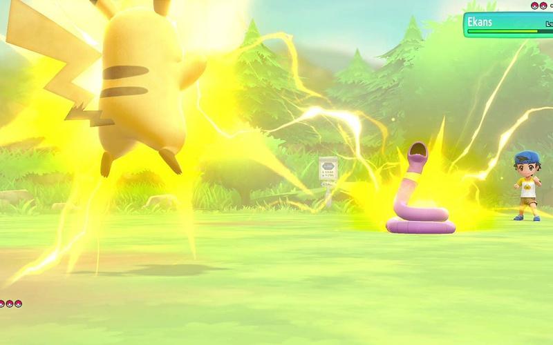 Pokémon: Let's Go, Pikachu! Nintendo Switch