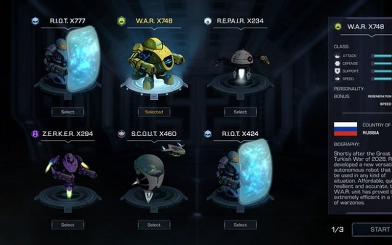 Robothorium: Sci-fi Dungeon Crawler