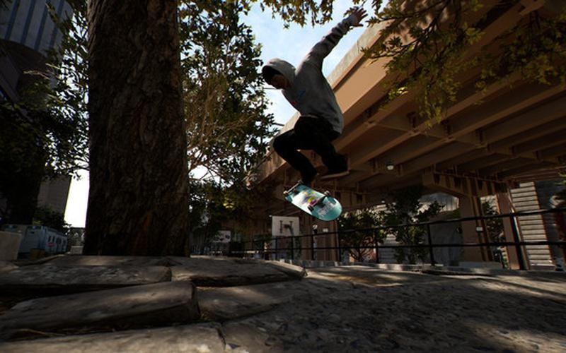 Session: Skateboarding Sim Game