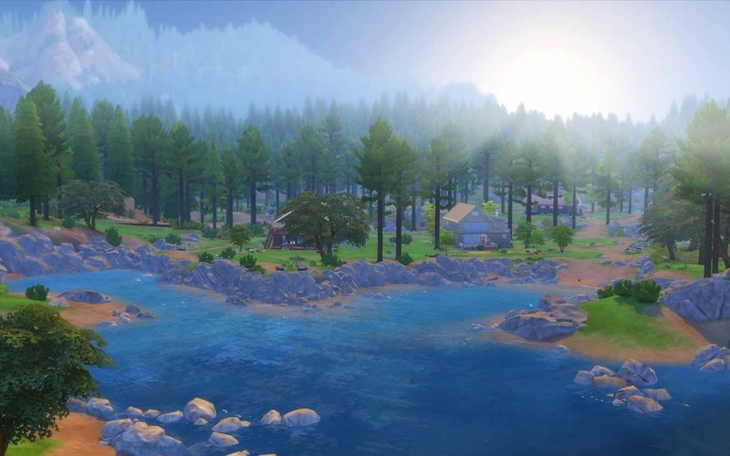 The Sims 4 Outdoor Retreat