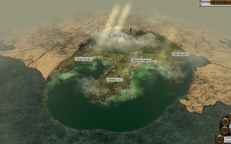 free  game pc total war shogun 2 map