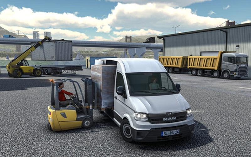 Truck and Logistics Simulator