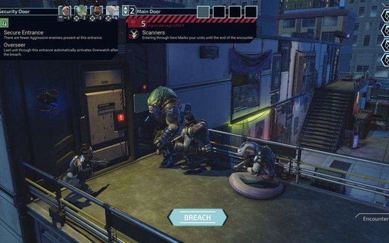 XCOM: Chimera Squad EUROPE
