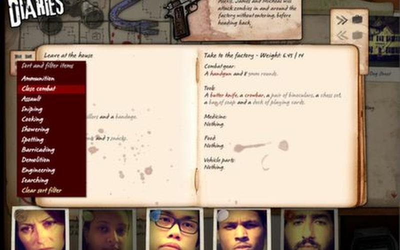 Zafehouse: Diaries