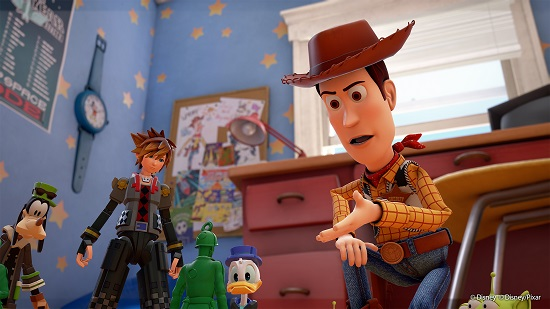 Toy Story Featured in New Kingdom Hearts III Trailer