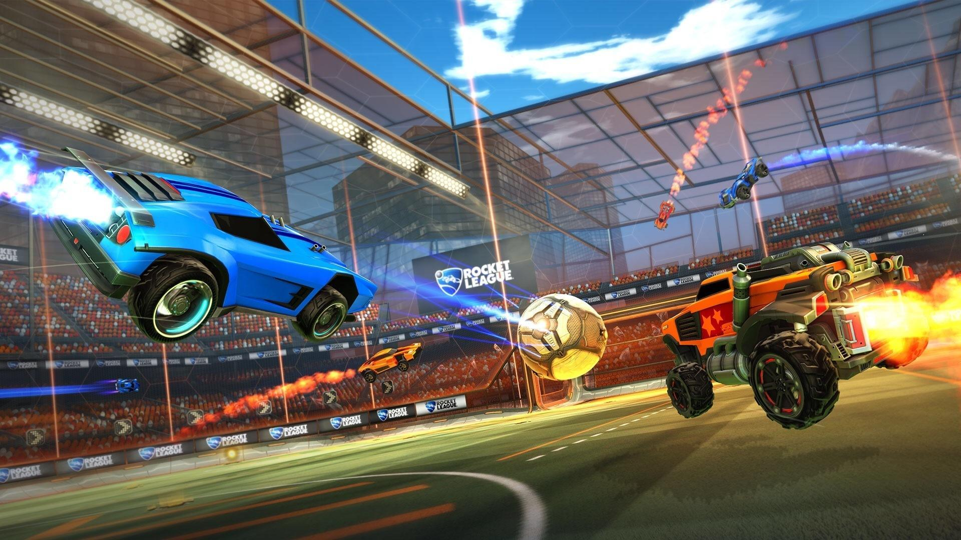 rocket league how to create a party