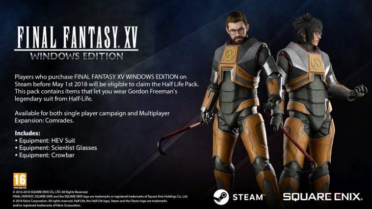Final Fantasy XV Half-Life