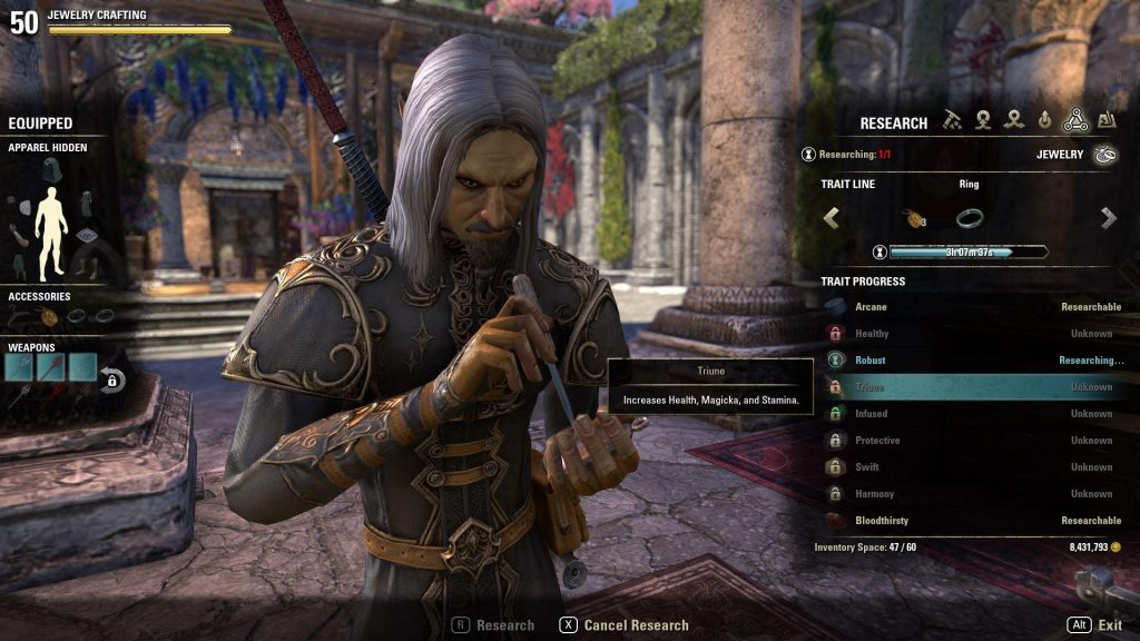 How To Make Crafted Sets Eso