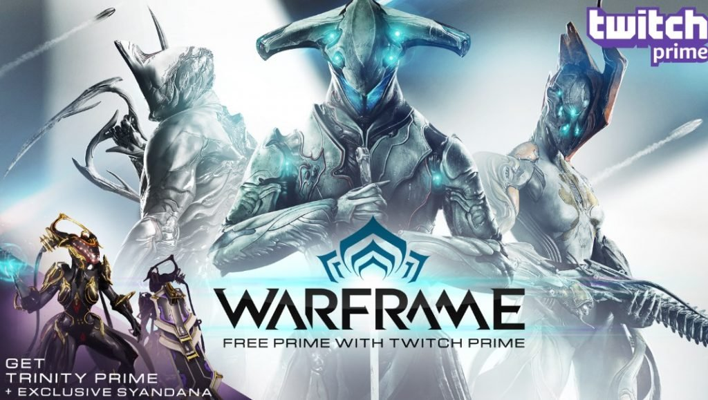 twitch prime subscribers get a free warframe